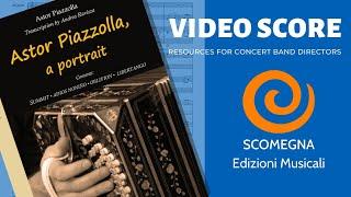 ASTOR PIAZZOLLA, a portrait - Astor Piazzolla, arr.  Andrea Ravizza