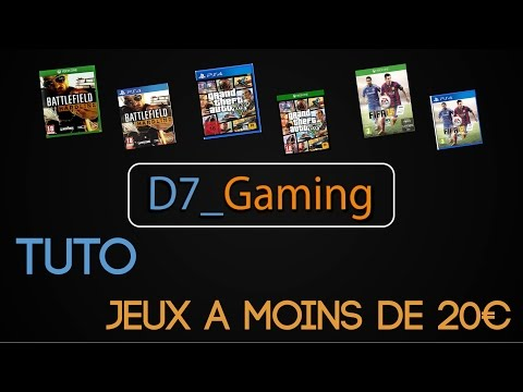 (Tuto) Jeux PS4 - PS3 neuf à moins de 20€ [HD]