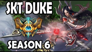 SKT T1 Duke Irelia vs Jayce TOP Ranked Challenger Korea