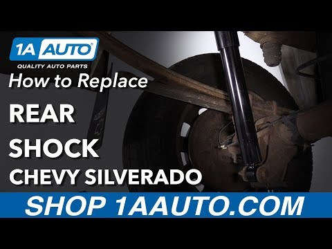 How to Replace Rear Shock 07-13 Chevy Silverado