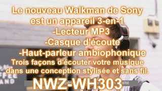 Walkman NWZ-WH303 3-en-1