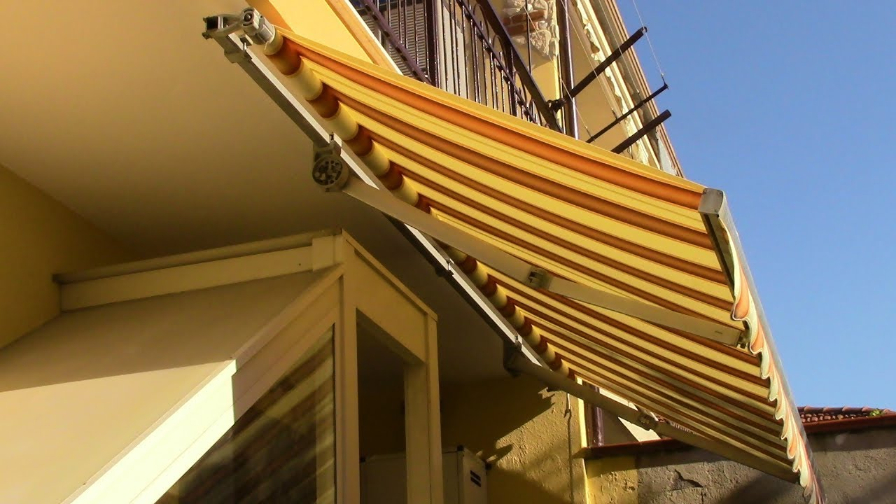 Cambiare Telo Tenda Da Sole A Bracci Estensibili How To Replace An Awning Cloth With Extensible Arms