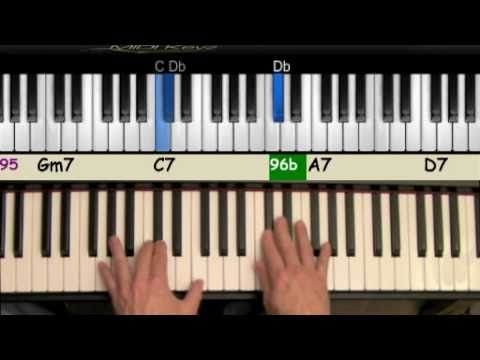 Let It Snow Jazz Piano Tutorial Youtube