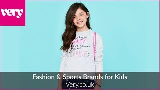 Fashion & Sports Brands for Kids | Very.co.uk