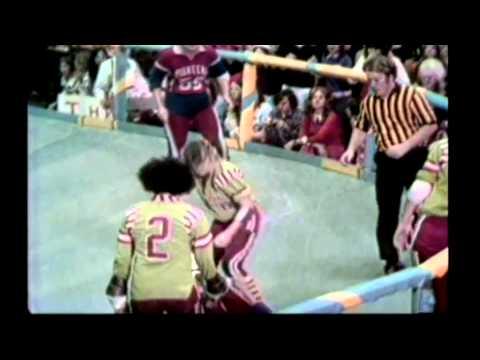 (1973) Roller Derby Pioneers vs Renegdes 2nd Half