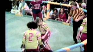 (1973) Roller Derby Pioneers vs Renegdes 2nd Half