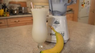 How to Make Quick Banana Milkshakes: Cooking with Kimberly