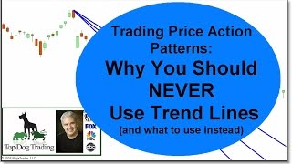 Trading Price Action Patterns - Trend Lines Don't Work