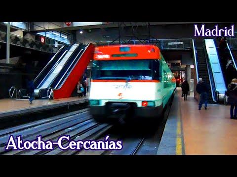 Atocha-Cercanías C1 - C2 - C3 - C4 - C5 - C7 - C8 - C10 | Madrid (Renfe Civia - 450 - 446 - 449)