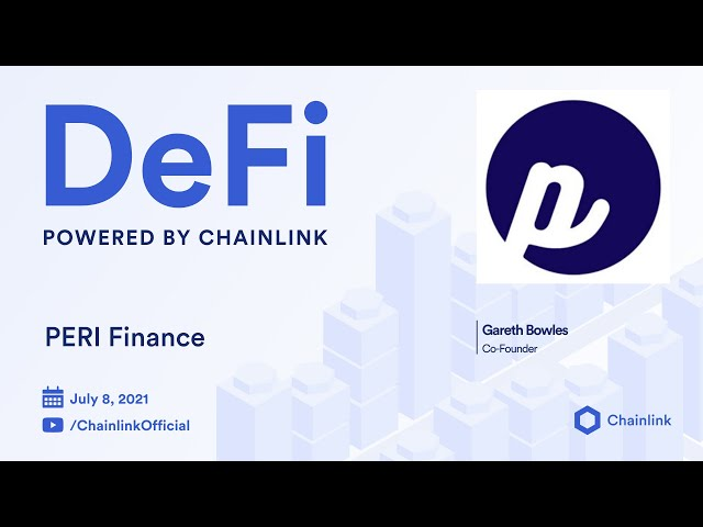 PERI Finance on Chainlink Live   Synthetic Assets for DeFi on Polkadot