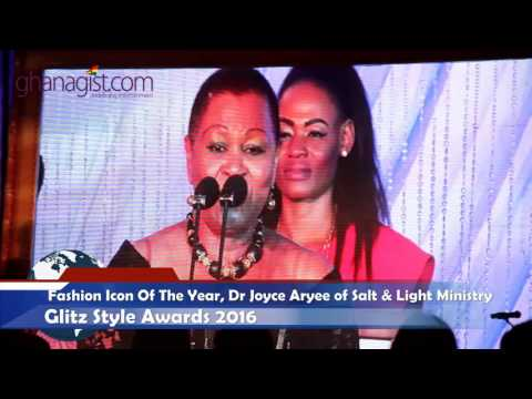 Dr Joyce Aryee wins Fashion Icon of the Year at Glitz Style Awards | @GhanaGist Video
