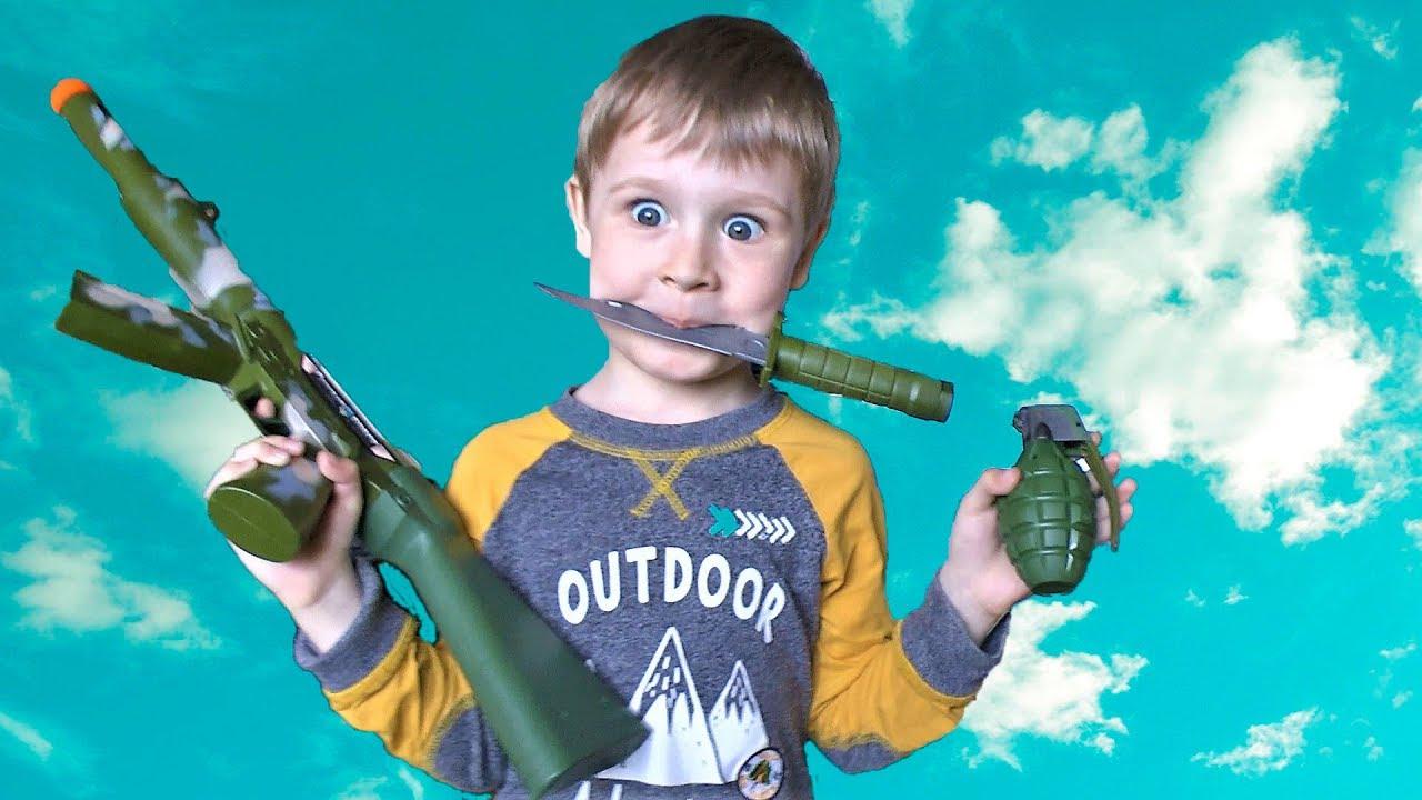 Набор военного Оружие для Детей Игрушки для Мальчиков