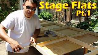 How To Build A Hollywood Flat Or Wall Panel: Framing The Walls