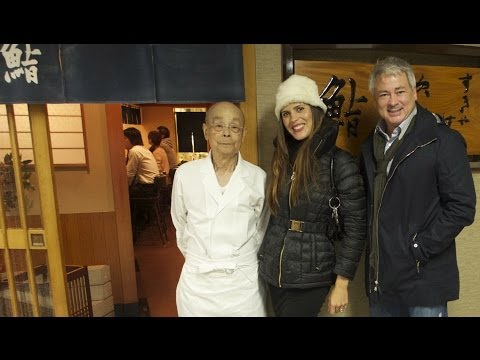 A Foodie's Dream...Sushi with Jiro!