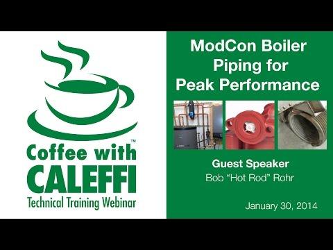 ModCon Boiler Piping for Peak Performance