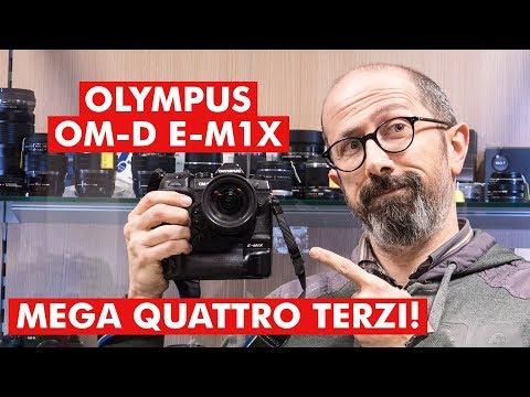 OLYMPUS OM-D E-M1X: MEGA QUATTRO TERZI!