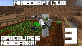 Minecraft Serie APOCALIPSIS MADAFAKA! Capitulo 3!
