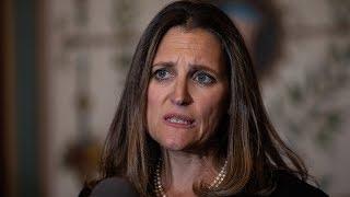 Canada's FM calls US tariffs illegal