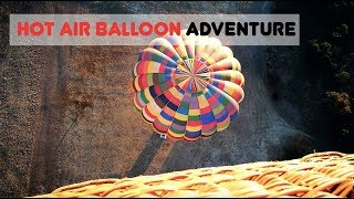 HOT AIR BALLOON ADVENTURE THROUGH MAGALIESBERG | JOHANNESBURG ADVENTURE VLOG