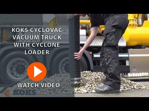 KOKS CycloVac Vacuum Truck With Cyclone Loader