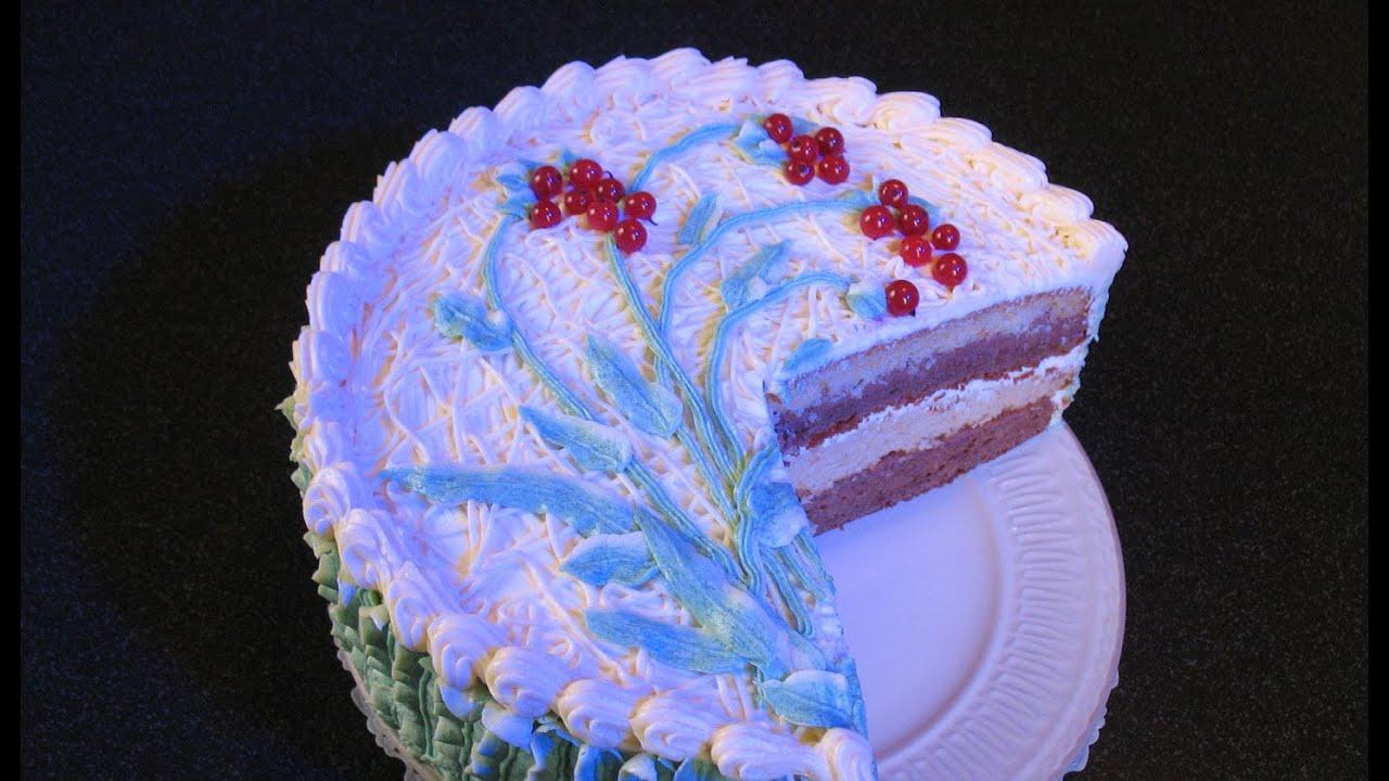 торт простой сметанник