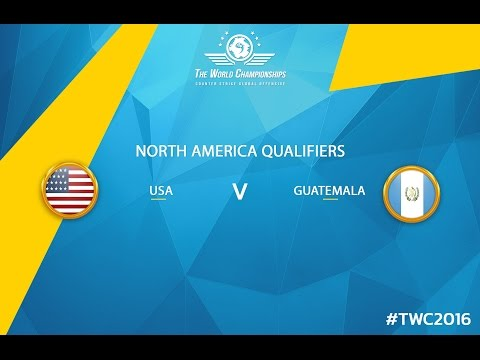 CS:GO - USA vs. Guatemala [Dust2] [Cache] - TWC 2016