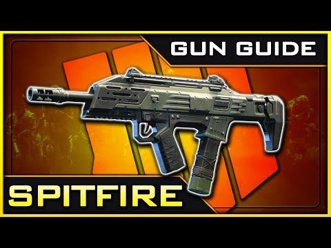 Spitfire Stats & Best Class Setups! | Black Ops 4 Gun Guide #14