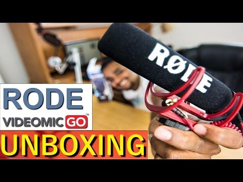 Rode VideoMic Go Unboxing- Quick Test
