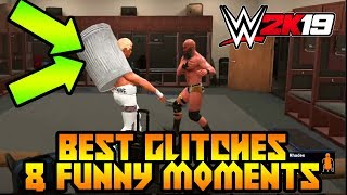 WWE 2K19 Best Glitches & Funny Moments #8
