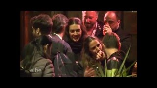Berguzar Korel at Uluc Bayraktar's BD party 20 04 2016