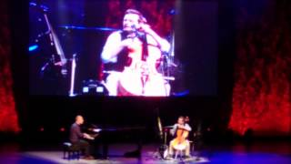 The Piano Guys - Mix Phantom Of The Opera + Don't Worry Be Happy at Greek Theatre May 15, 2015