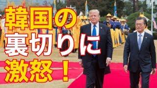 韓国、対北規制解除の動きでアメリカと国連へ反旗!韓国の裏切りにトランプ大統領が大激怒!【国際政治】