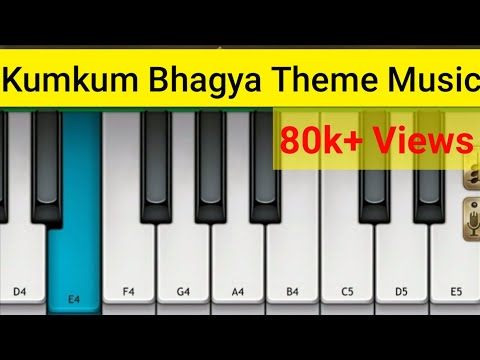 Kumkum Bhagya Sad Theme Music Piano by Mini Part Piano