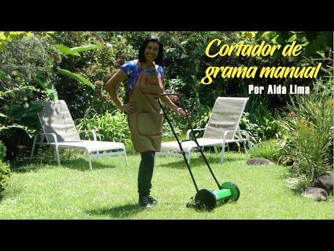 Cortador de grama manual