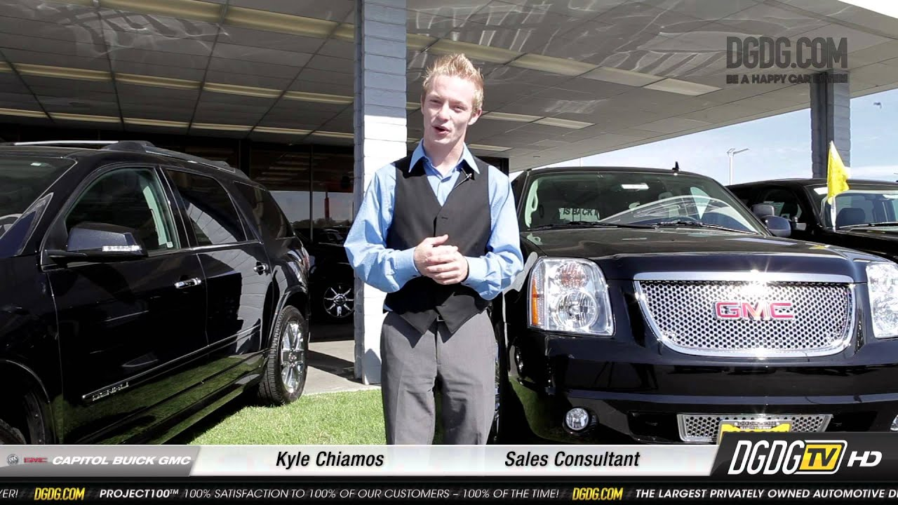 Wel e to Capitol Buick GMC Kyle Chiamos