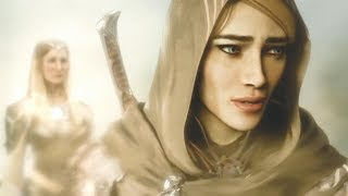 Middle-earth: Shadow Of War - The Blade of Galadriel Story DLC, Opening Cutscene (PS4, Xbox One, PC)