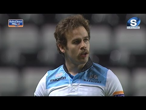 Ruaridh Jackson makes no mistake against Ospreys