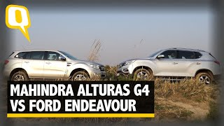 Big SUV Comparison: Mahindra Alturas G4 Vs Ford Endeavour | The Quint