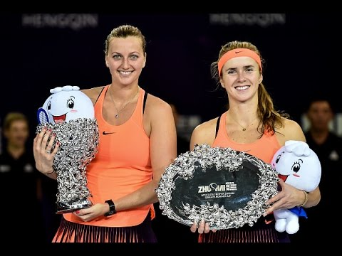 Petra Kvitova vs Elina Svitolina | 2016 WTA Elite Trophy Zhuhai Final Highlights