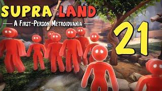 Supraland - Прохождение игры - Какая гадость этот ваш босс [#21] Финал (но это не точно) | PC
