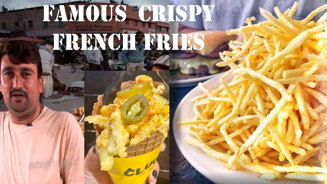 Record Tor Fries of Ghulshan e Iqbal | Crispy French Fries Stall