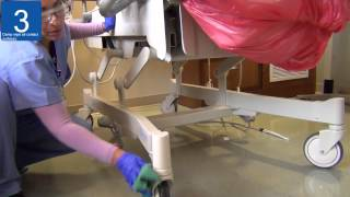 UMC EVS 7 Step Cleaning procedure