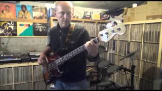 The Whispers - Rock Steady - 1987 (Bass Cover)