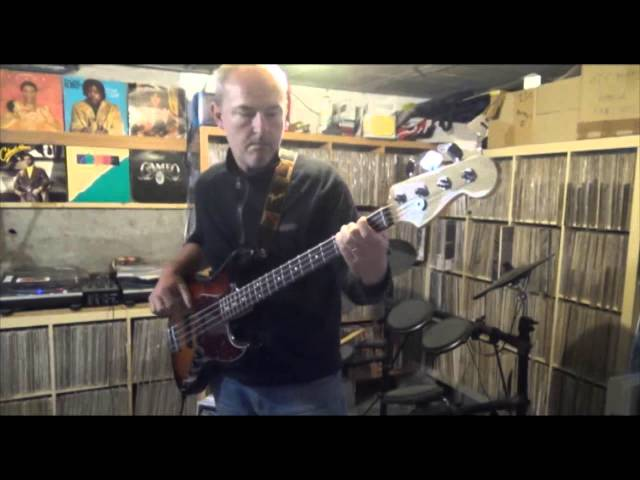 """The Whispers """"rock steady"""" (bass cover)"""