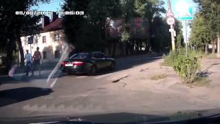 Быдло на дороге Брянск Володарка