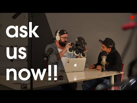 WHATS NEW? LIVE Q&A AND MORE SKATE RELATED TALKING WITH RICARDO LINO AND MOE FISHER