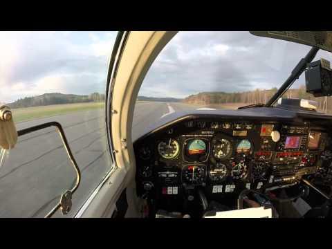 Five Mooney M20J Landings