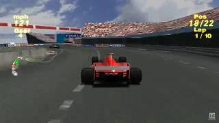 Formula One 99 PS1 Gameplay HD