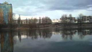Озеро Біле, Оболонь(Апрель. Озеро Белое на Оболони. Здесь еще никого нет, кроме рыбаков. Природа только просыпается. Уточки плав..., 2011-04-10T18:13:36.000Z)