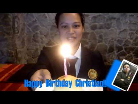 Happy Birthday Christian!! Videos De Viajes